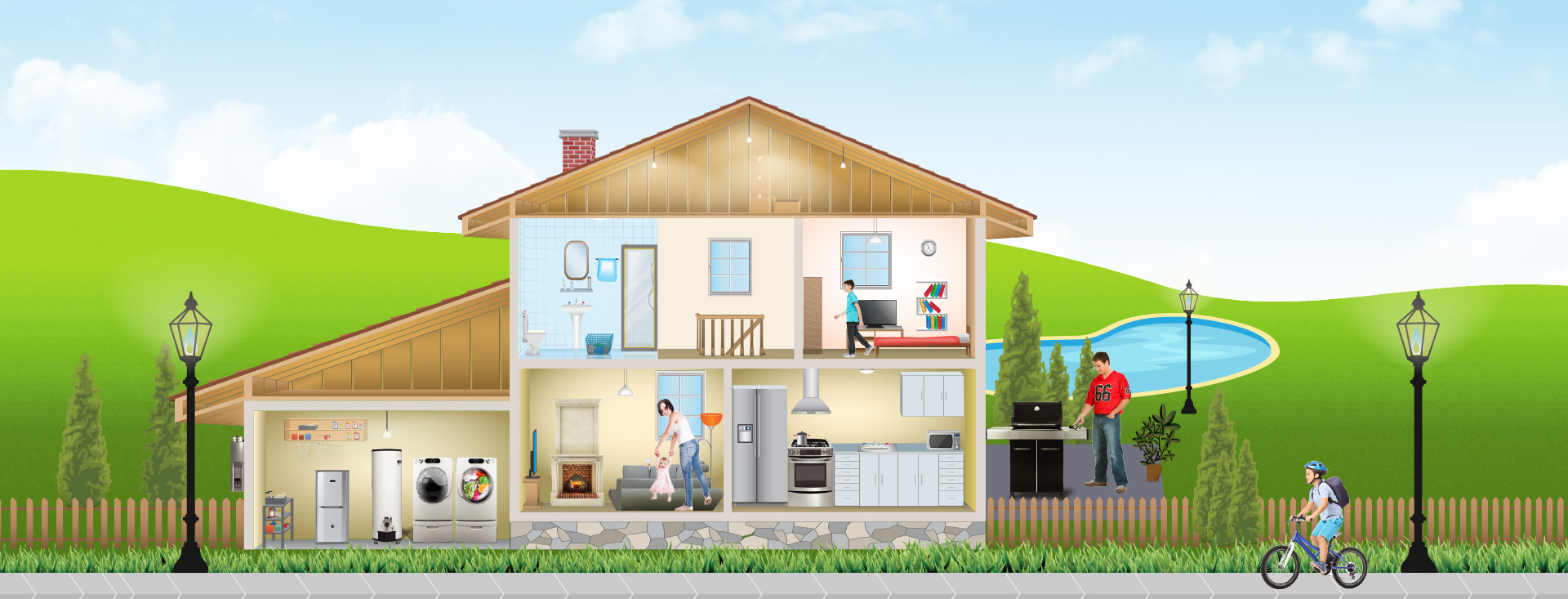 Natural gas interactive home see the benefits of natural - Natural home ...