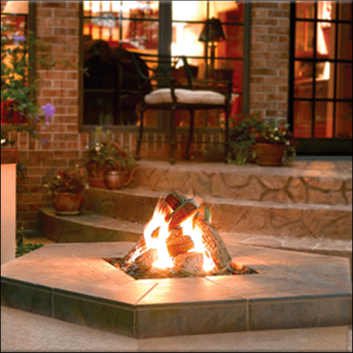 Indoor/Outdoor Fireplaces